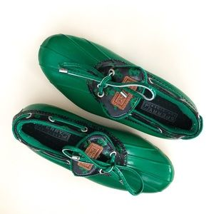 Sperry Shoes - Sperry Green Anchor Duckboot Shoes
